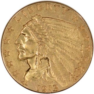 Us Gold $2.  50 Indian Head Quarter Eagle - Extra Fine - Random Date photo