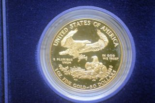 50 Gold Dollars American Eagle 1986 1oz Collectable photo