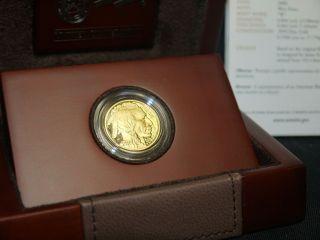 2008 - W American Gold Buffalo 1/4 Oz Proof Coin (w/box &) photo
