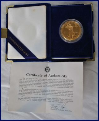 United States Gold $50,  1986 American Eagle photo