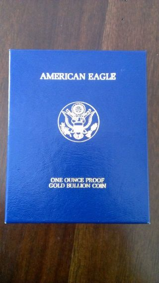 United States 1994 $50 American Eagle Proof Gold Coin photo