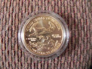 2008 Liberty $50 Dollar Coin,  1 Oz Fine Gold photo