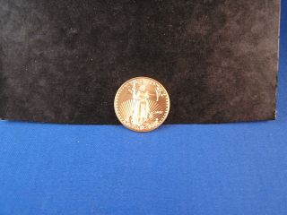 2009 1/2 Troy Oz Fine Gold American Eagle $25 photo