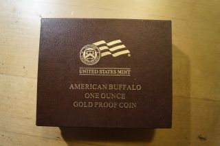 2010 American Buffalo One Ounce Gold Proof Coin photo