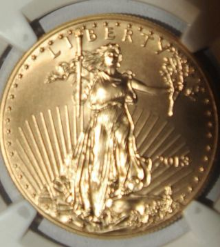2013 1 Oz Gold American Eagle $50 Pcgs Ms70 West Point photo