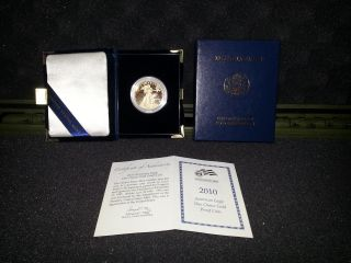2010 1oz American Eagle Gold Proof Coin And Certificate photo