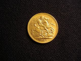 Gold Sovereign,  Australian 1906 (m) Full Sovereign photo
