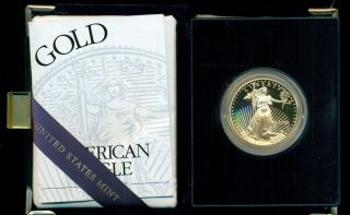 2002 $50 Proof United States Gold Eagle photo