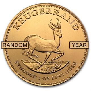 Gold Krugerrand 1oz Bu - Various photo