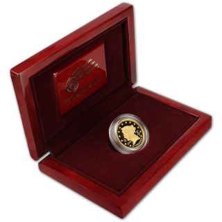 2010 - W Us First Spouse Gold (1/2 Oz) Proof $10 - James Buchanan ' S Liberty photo