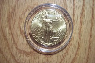 1998 United States $50 Gold Double Eagle Bullion Rare Find Dashing Coin photo