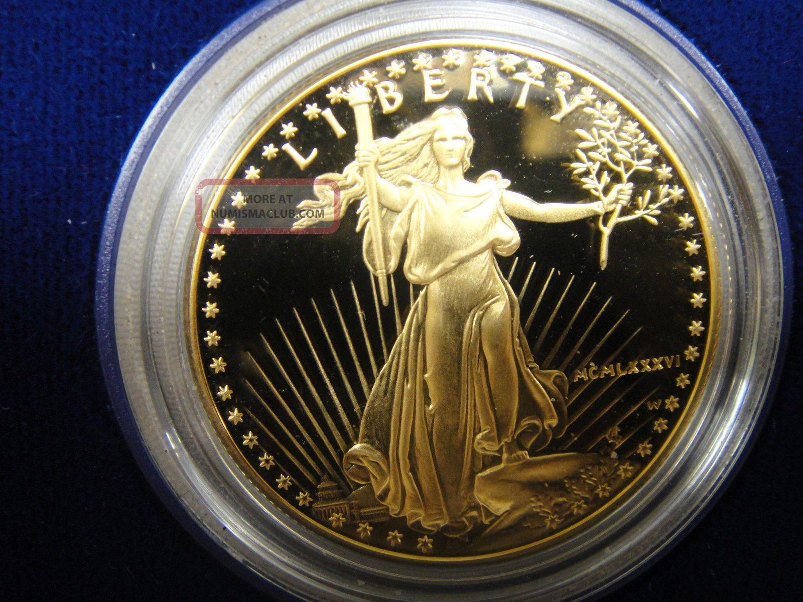 American Eagle One Ounce 1 Oz Proof Gold Bullion Coin