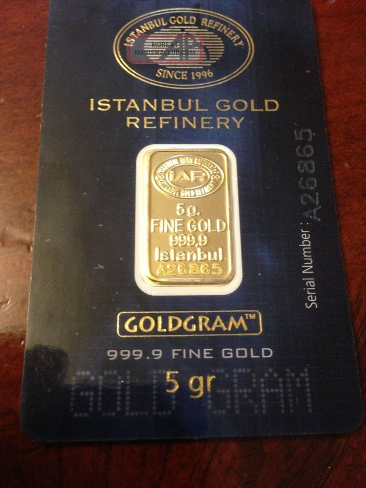 Two Five Grams Gold Bar 999 9 Fine Gold