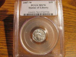 2007 - W $10 Platinum Eagle