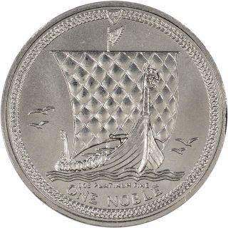 Isle Of Man Platinum (1 Oz) Noble - Bu - Random Date photo