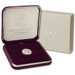 2000 American Platinum Eagle (1/10 Oz) $10 photo