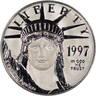 American Platinum Eagle (1 Oz) $100 - Bu - Random Date photo