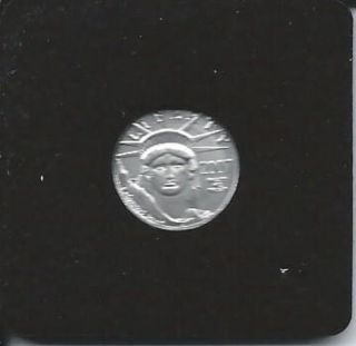 2007 W Platinum 1/10 Oz American Eagle photo