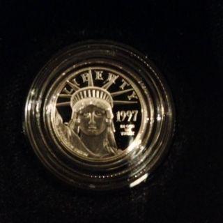 1997 - One - Tenth Ounce Proof Platinum Bullion Coin photo