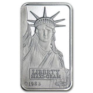5 Gram Credit Suisse Platinum Bar (in Assay).  999+ Fine photo