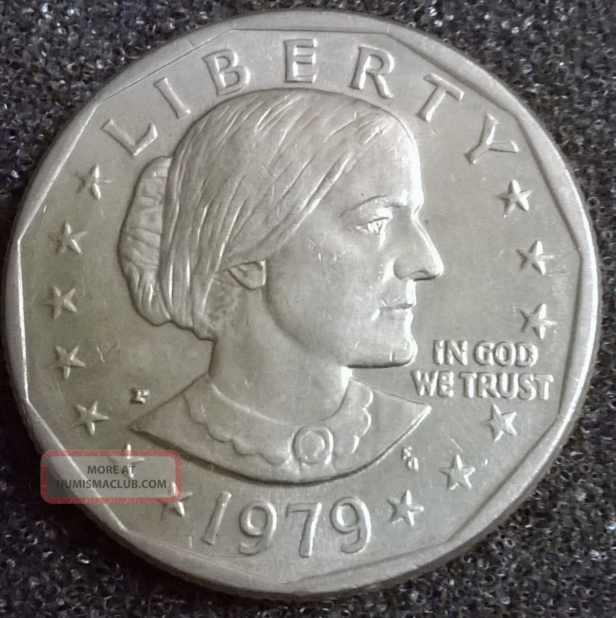 1979 Susan B Anthony One Dollar Coin Value -