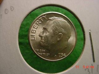 1956 Roosevelt Dime //// Gem Proof *Full Torch* //// 90/% Silver ////1 Coin 1