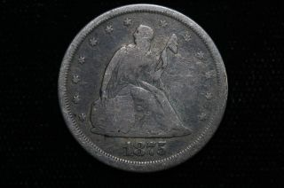 1875 S Twenty Cent Piece Coin photo