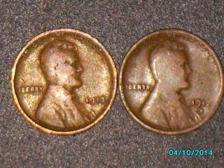 Coins: US - Small Cents - Lincoln Wheat (1909-1958) - Price