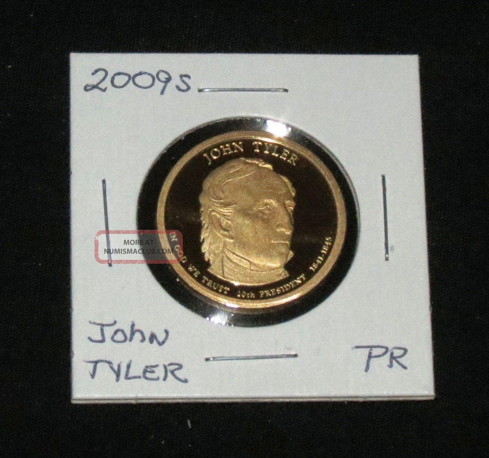 2009s Pres.  John Tyler Proof Dollars photo