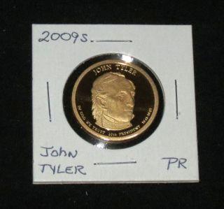2009s Pres.  John Tyler Proof photo