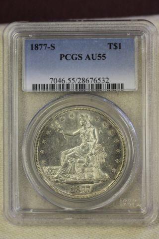1877 - S T$1 Trade Dollar photo