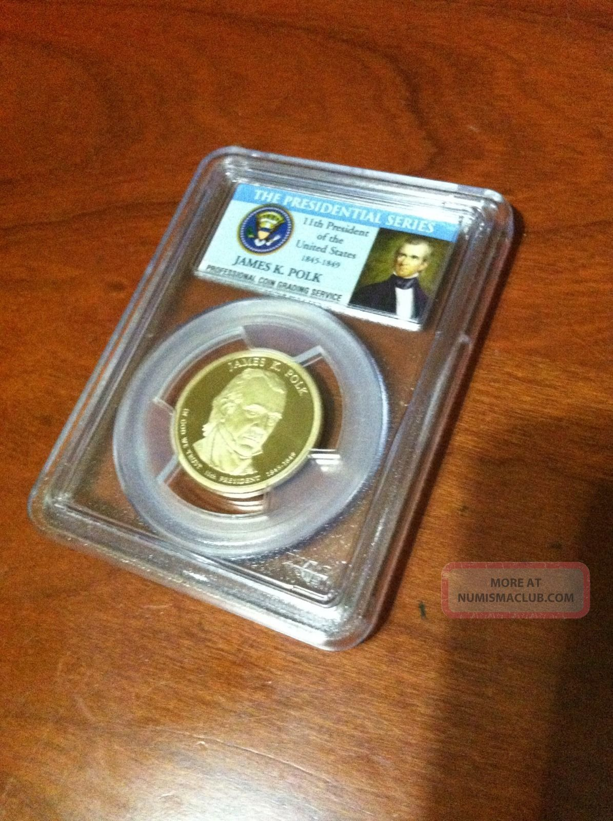 2009 - S James K.  Polk Dollar Dollars photo