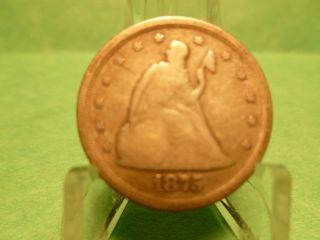 Better Grade 1875 - S 20 Cent Piece