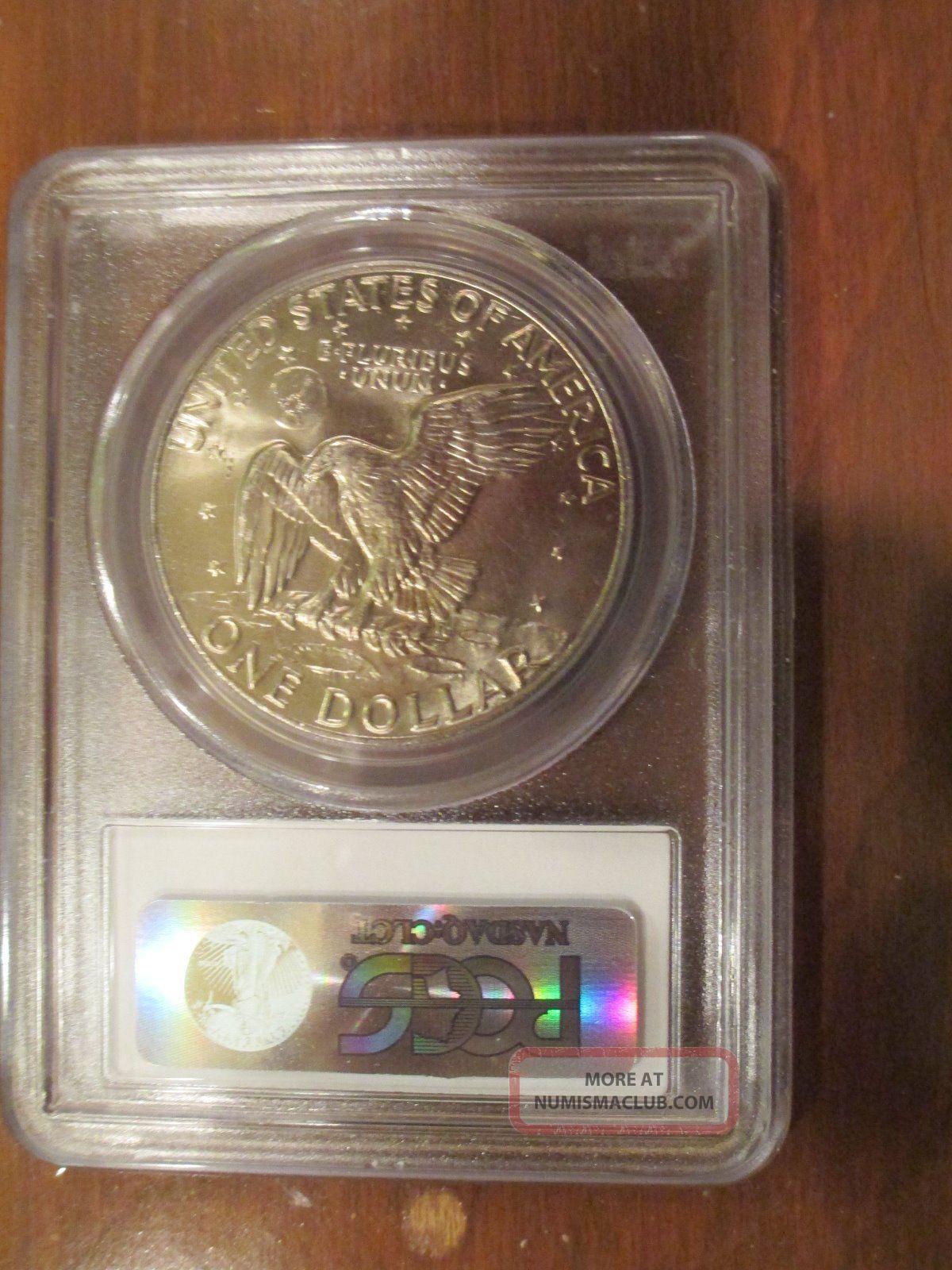1974 D Ike Eisenhower Dollar 1 Coin Pcgs Ms 65