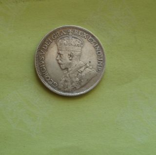 1917 25c Canada 25 Cents photo