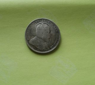 1910 25c Canada 25 Cents photo