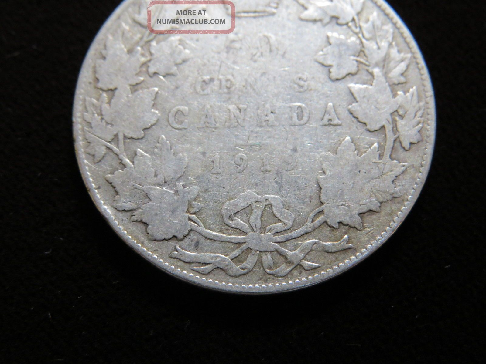 50 Cent Coin Canada 1919 King George V