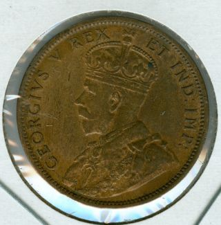 1911 Canada Large Cent Au Grade. photo