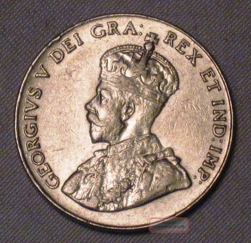 Canada 1928 Five Cents Choice Au Old Coin N4 - 168 Coins: Canada photo