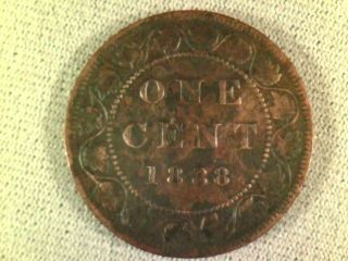 1888 Canada Large Cent photo