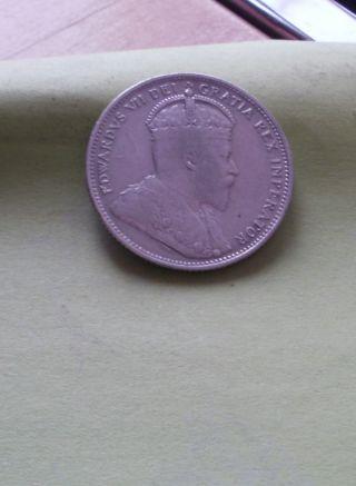 1905 Canada 25 Cents (very Fine) photo