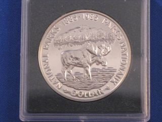 1985 Canada Silver Dollar Proof - Like T0479l photo