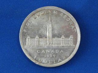 1939 Canada Silver Dollar B1071 photo