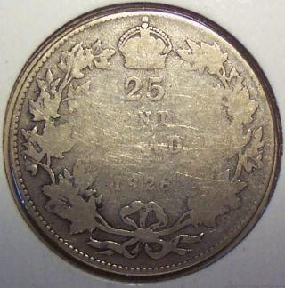 1928 Canada 25 Cents photo