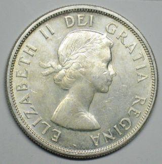 1963 Canadian Silver Dollar Grading Choice Bu 600 Asw T199 photo