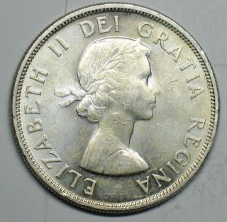 1963 Canadian Silver Dollar Grading Choice Bu 600 Asw T202 photo