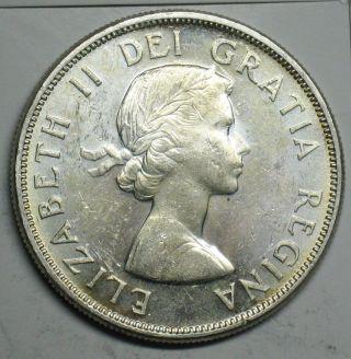 1963 Canadian Silver Dollar Grading Choice Bu 600 Asw T205 photo