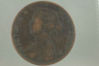 Canada Large One Cent Nova Scotia Piece 1864 photo