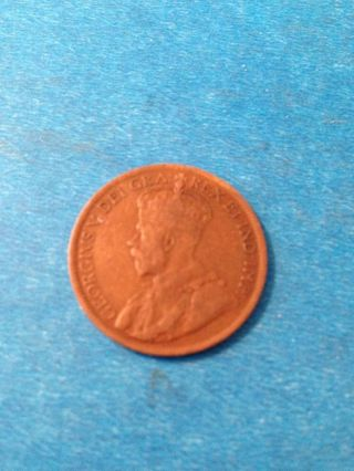 1919 Canada One Large Cent photo