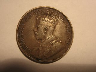 Canada Large Cent 1918 photo